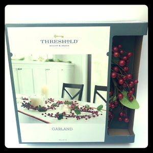 Threshold Faux Red Berry Holiday Garland